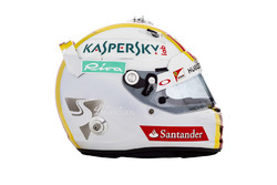 Шлем Себастьяна Феттеля, Ferrari