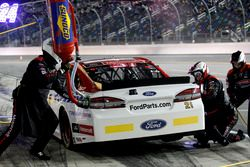 Arrêt aux stands pour Ryan Blaney, Wood Brothers Racing Ford