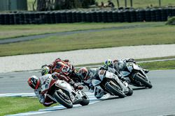 Leon Camier, MV Agusta, Jordi Torres, Althea BMW Team, Markus Reiterberger, Althea BMW Team en Loren