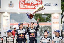 Racewinnaars Sébastien Ogier, Julien Ingrassia, M-Sport