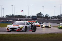 #93 Michael Shank Racing, Acura NSX: Andy Lally, Katherine Legge, Mark Wilkins, Graham Rahal