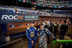 Alexander Rossi and Scott Speed, wait