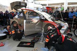 Le parc d'assistance Toyota Racing