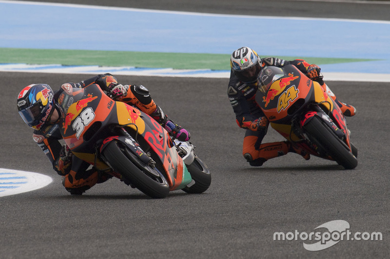 Bradley Smith, Red Bull KTM Factory Racing, Pol Espargaro, Red Bull KTM Factory Racing
