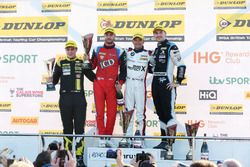 Podium, Senna Proctor, Power Maxed Racing Vauxhall Astra, Jack Goff, Eurotech Racing Honda Civic Typ