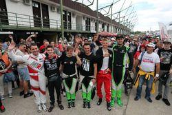 Norbert Michelisz, M1RA, Honda Civic TCR, Attila Tassi, M1RA, Honda Civic TCR, Anett Gyorgy, Zengo M