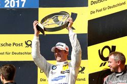 Podio: Maxime Martin, BMW Team RBM, BMW M4 DTM