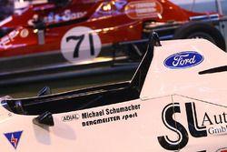 Tentoonstelling Formula Ford inclusief de Michael Schumacher Van Diemen RF87