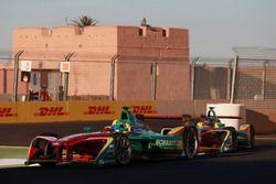 Lucas di Grassi, ABT Schaeffler Audi Sport; Daniel Abt, ABT Schaeffler Audi Sport