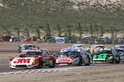 Mariano Werner, Werner Competicion Ford, Guillermo Ortelli, JP Racing Chevrolet, Mauro Giallombardo, Alifraco Sport Ford