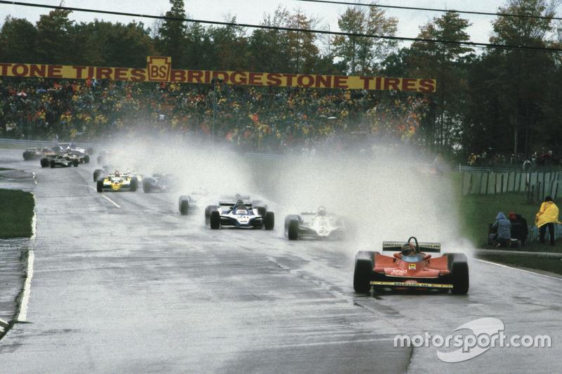 Gilles Villeneuve, de Ferrari, ganó el GP de Estados Unidos del Este de F1 en Watkins Glen en 1979