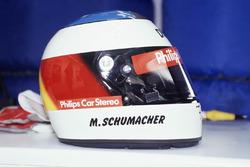 Casco de Michael Schumacher, Jordan