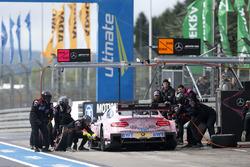 Pitstop, Lucas Auer, Mercedes-AMG Team HWA, Mercedes-AMG C63 DTM