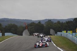 Carlos Munoz, A.J. Foyt Enterprises Chevrolet, Takuma Sato, Andretti Autosport Honda