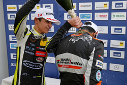 Rookie Podium: Lando Norris, Carlin Dallara F317 - Volkswagen and Jehan Daruvala, Carlin, Dallara F317 - Volkswagen