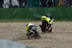 Xavier Simeon, Tasca Racing Scuderia Moto2, caída