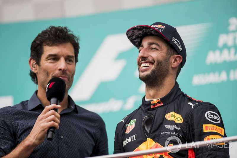2014-től már a Red Bullnál versenyzett Mark Webber helyén. Az első ilyen szezonjában rögtön legyőzte a négyszeres világbajnok címvédő Sebastian Vettelt és harmadik lett. Az első győzelmét abban a szezonban húzta be, Kanadában, majd még Magyarországon és Belgiumban tudott győzni.