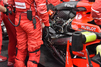 Двигатель Ferrari SF70H Кими Райкконена
