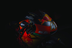 The bike of Brad Binder, Red Bull KTM Ajo