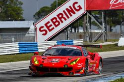 #62 Risi Competizione Ferrari 488 GTE: Toni Vilander, James Calado, Juan Pablo Montoya