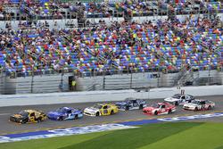Brendan Gaughan, Richard Childress Racing Chevrolet, Elliott Sadler, JR Motorsports Chevrolet