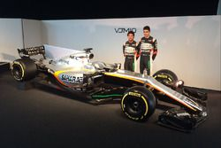 Sergio Pérez, Esteban Ocon, Sahara Force India F1 VJM10