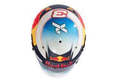Kask, Daniel Ricciardo, Red Bull Racing