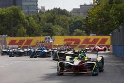 Lucas di Grassi, ABT Schaeffler Audi Sport leads Jean-Eric Vergne, Techeetah e Sébastien Buemi, Renault e.Dams