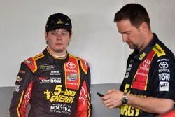 Erik Jones, Furniture Row Racing Toyota, Chris Gale