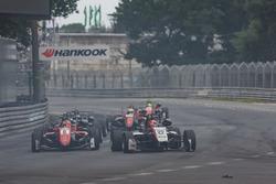 Guan Yu Zhou, Prema Powerteam, Dallara F317 - Mercedes-Benz, Nikita Mazepin, Hitech Grand Prix, Dall