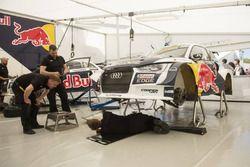 La voiture de Mattias Ekström, EKS, Audi S1 EKS RX Quattro