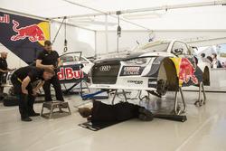 Wagen van Mattias Ekström, EKS, Audi S1 EKS RX Quattro