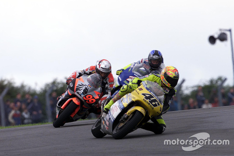 Donington 2000 - Primera victoria en 500cc