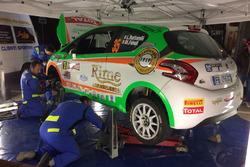 Parco assistenza: Luca Bottarelli, New Turbomark Peugeot 208 R2B