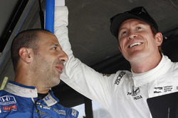 Tony Kanaan, Chip Ganassi Racing Honda, Scott Dixon, Chip Ganassi Racing Honda