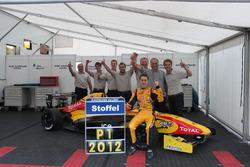 Le champion Stoffel Vandoorne, Josef Kaufmann Racing