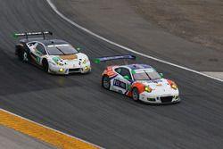 #54 CORE autosport Porsche 911 GT3R: Jon Bennett, Colin Braun, Nic Jönsson, Patrick Long, #18 DAC Motorsports Lamborghini Huracan GT3: Emmanuel Anassis, Zachary Claman DeMelo, Anthony Massari