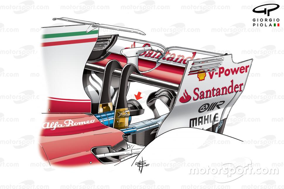 Double monkey seat de la Ferrari SF70H