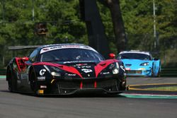 Ferrari 488-S.GT3 #70, Easy Race: Schiro-Melo