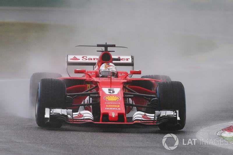 6. Sebastian Vettel, Ferrari SF70H