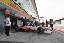 Jacques Villeneuve, F1 Experiences 2-Seater Driver