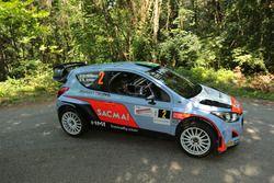Corrado Fontana, Nicola Arena, Hyundai i20 WRC, Bluthunder Racing Team