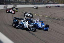 Max Chilton, Chip Ganassi Racing Honda, Scott Dixon, Chip Ganassi Racing Honda