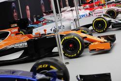 Scuderia Toro Rosso, McLaren, Williams Force India, Ferrari and Red Bull Racing