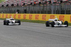 Zsolt Baumgartner y Patrick Friesacher, pilotos de la Experiencia F1