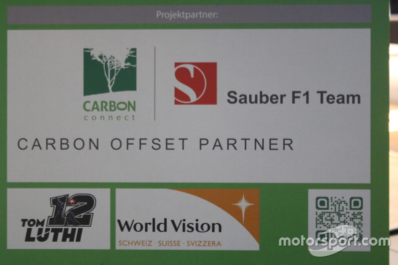 Carbon Connect-Sauber F1 Team Präsentation