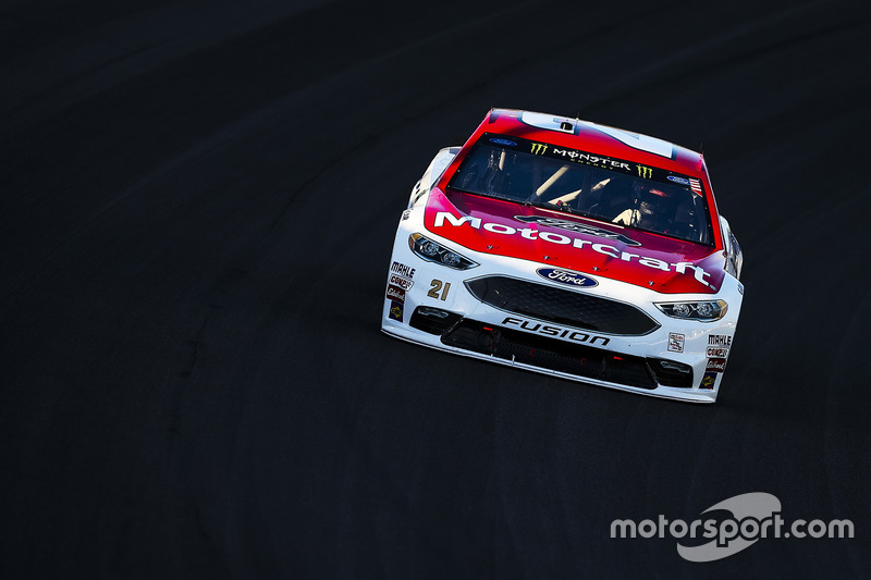 7. Ryan Blaney, Wood Brothers Racing Ford
