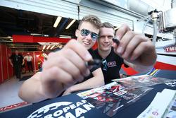 #34 Tockwith Motorsports, Ligier JSP217 - Gibson: Nigel Moore, Phil Hanson