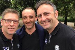 Roberto Chinchero, Bernd Maylander e Robert Kubica