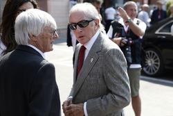 Jackie Stewart y Bernie Ecclestone